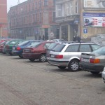 Parking na Placu Jana Pawła II w Wąbrzeźnie